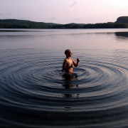 Diane at Aylen Lake